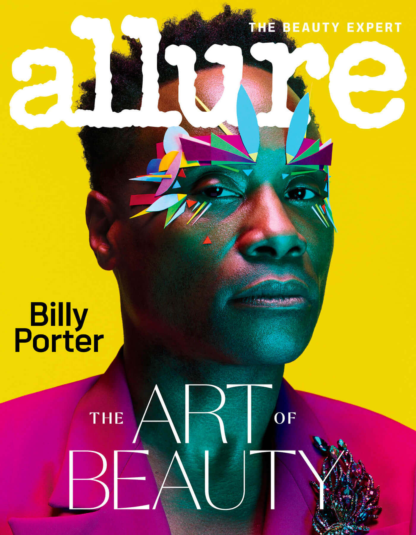 Billy Porter Cover for Allure (February 2020)