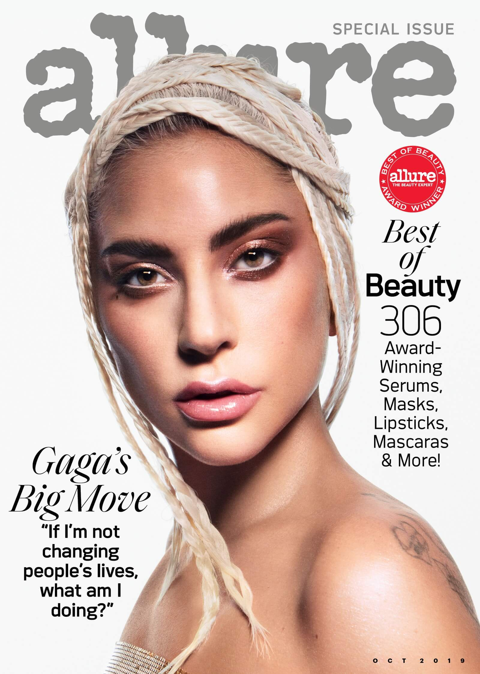 Lady Gaga Cover for Allure (October 2019)