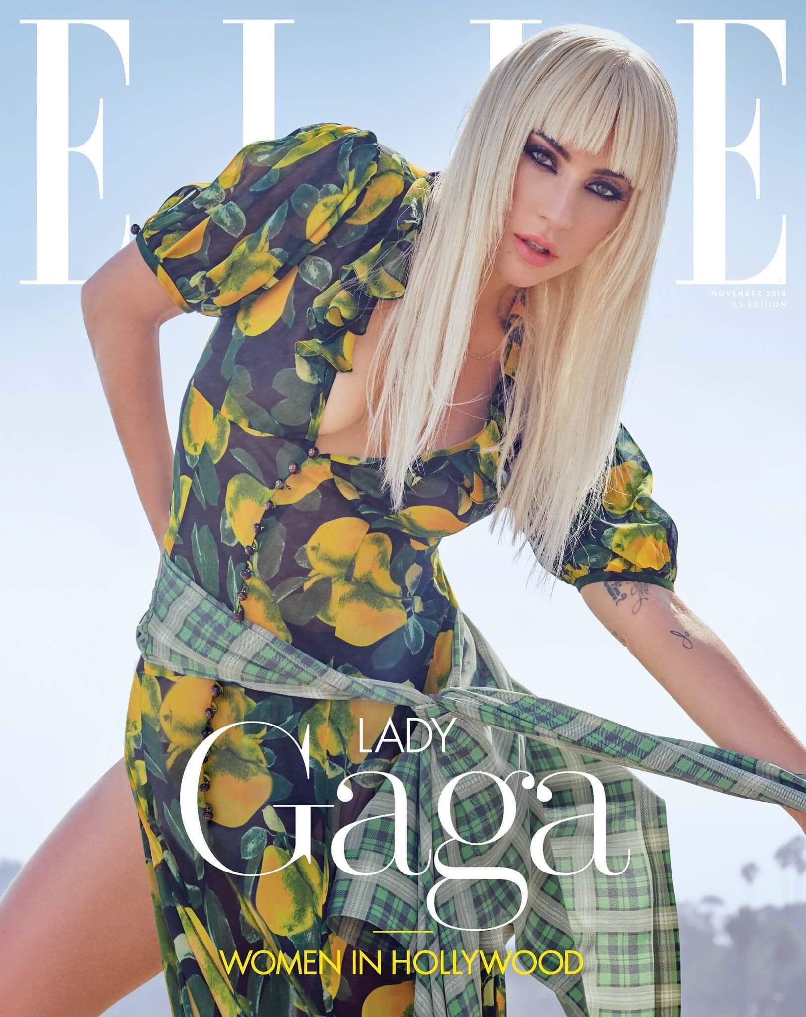 Lady Gaga Cover for Elle (November 2019)