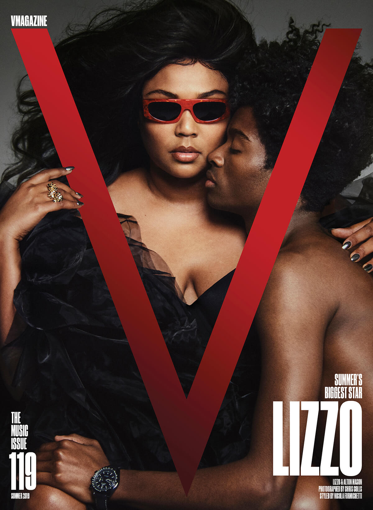 Lizzo Cover for V Magazine Issue 119: The Music Issue (Summer 2019)