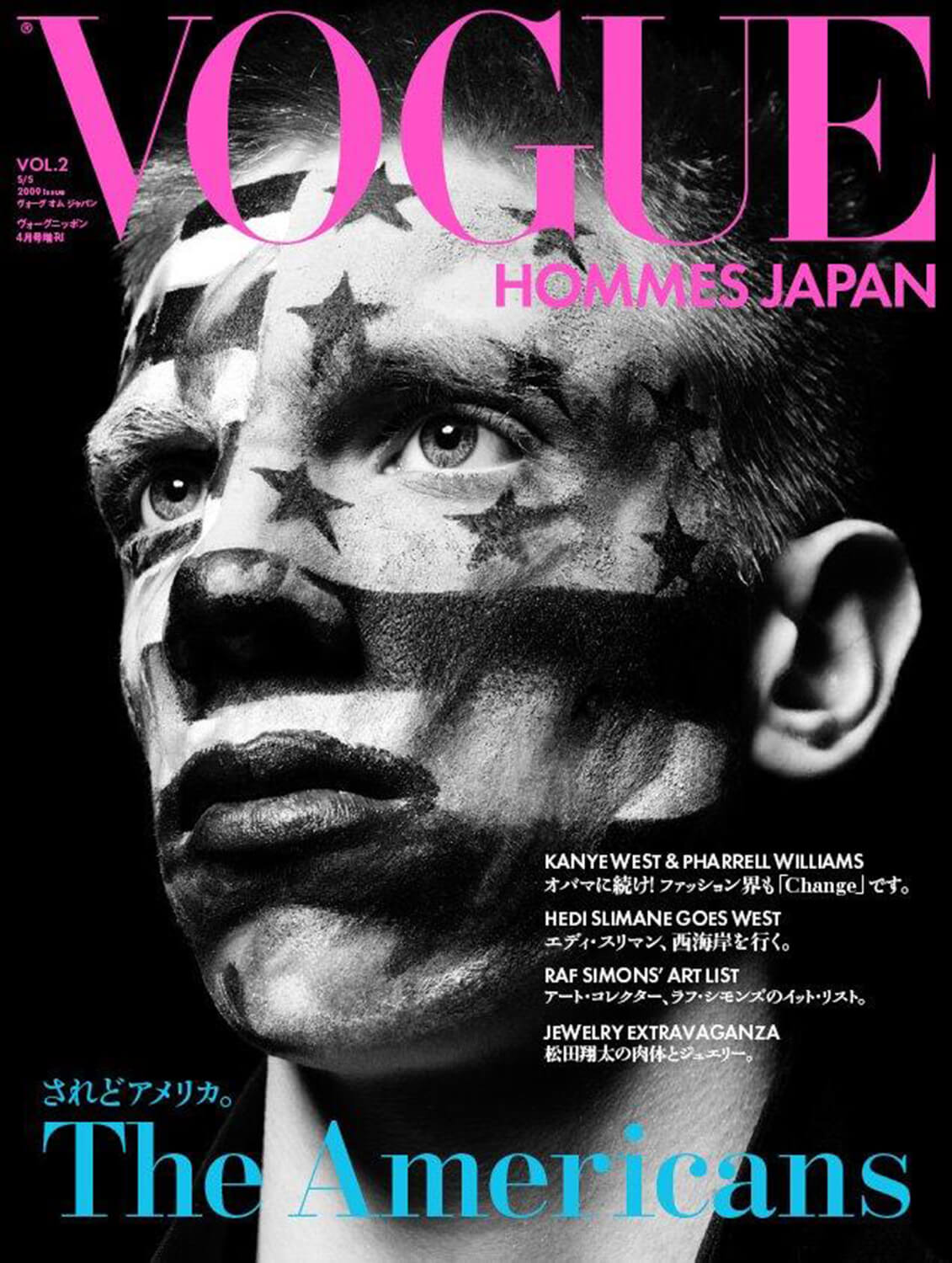Vogue Hommes Japan Cover for Vogue Hommes Japan (Spring/Summer 2009)