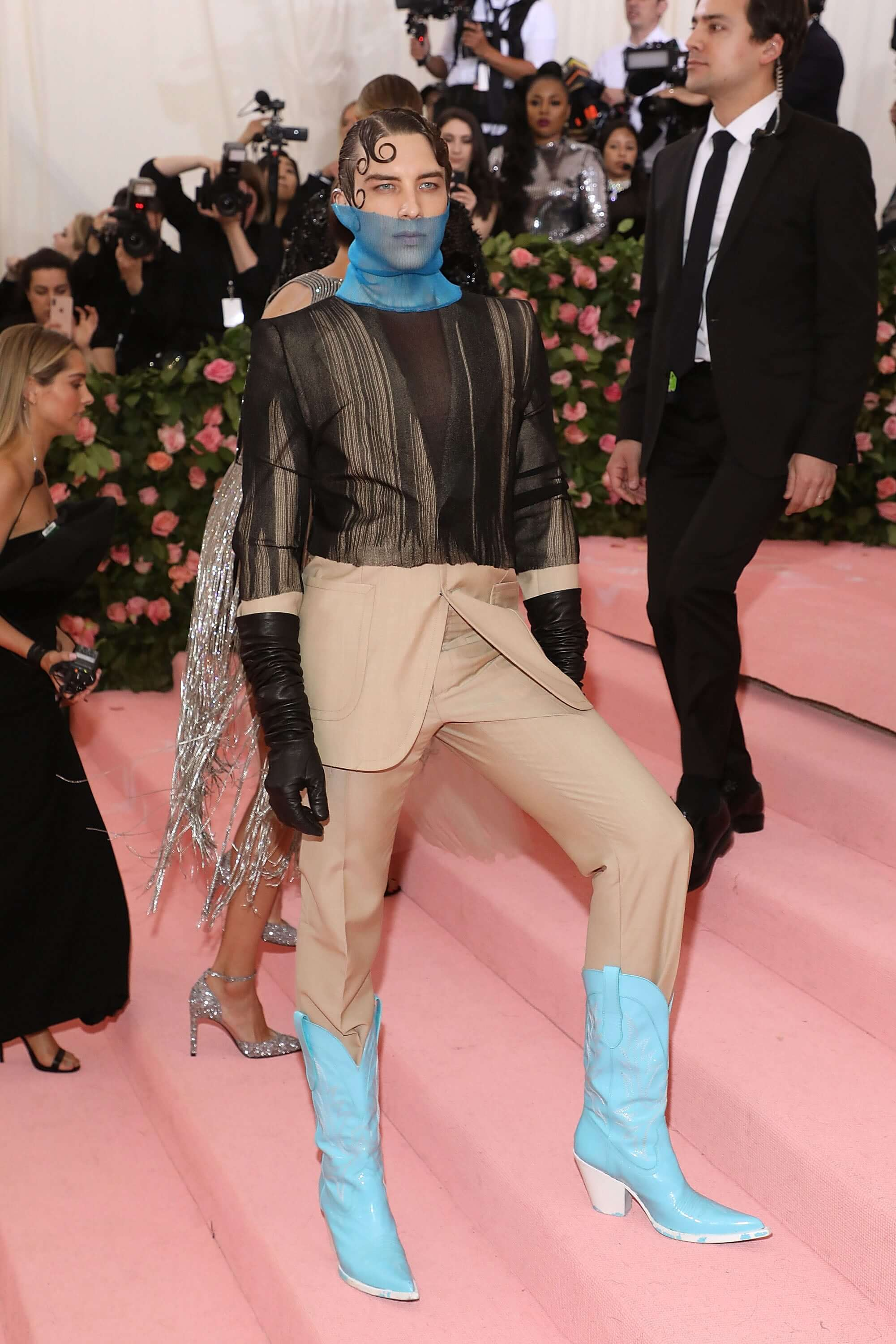 Cody Fern at the Met Gala 2019